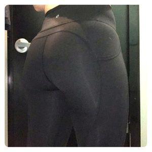 All The Right Places BLACK Full Length Leggings 6